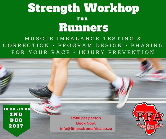 Strength Workshop for Runners